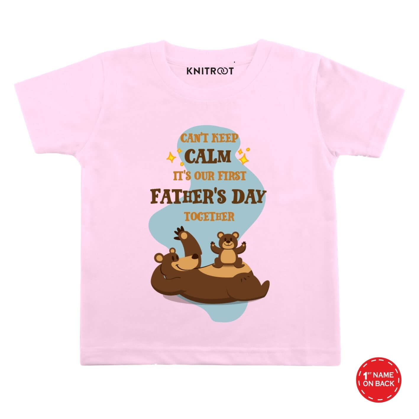 First Father's day-bear baby wear