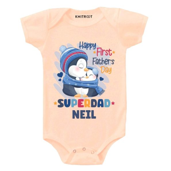 First Father's day-panda baby wear