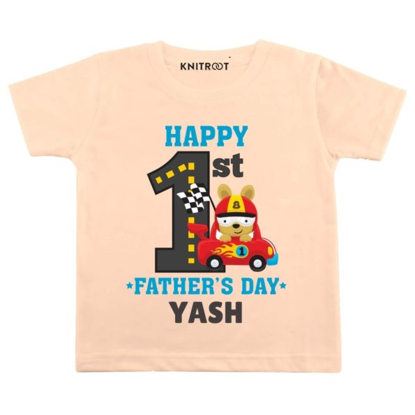 Happy 1st Father's day-Racer Wear