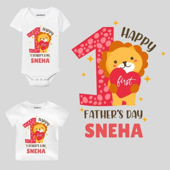 happy 1st fathers day