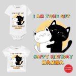 Happy birthday Mamma baby wear