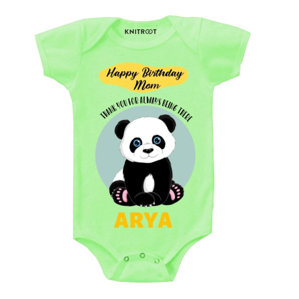 Happy birthday Mom baby outfit