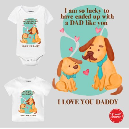 i love my daddy baby clothes