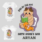 Papa ho toh aise-cat Kids Outfit