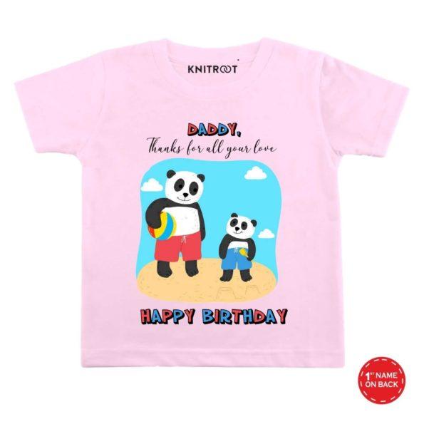 Thanks Daddy Happy Birthday wear