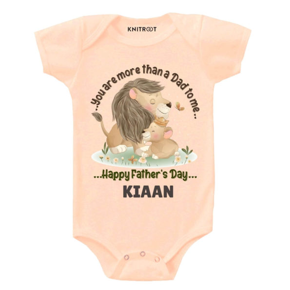 You more than dad baby wear