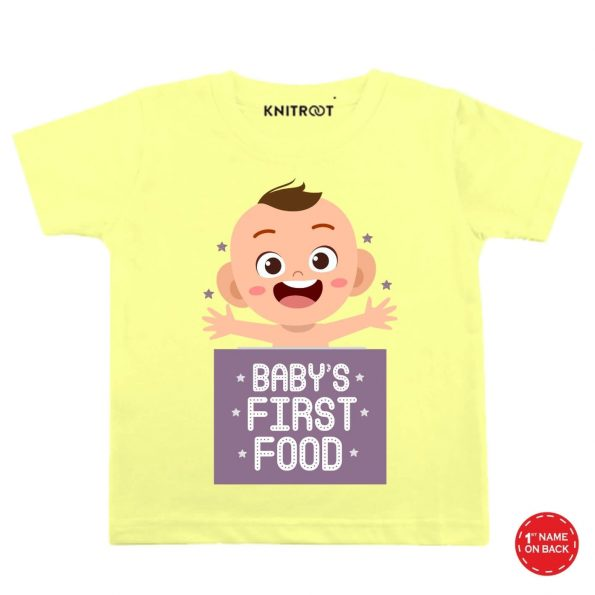 Baby's First Food Wear