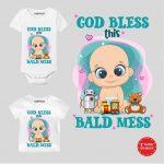 Bald mess Customized wear