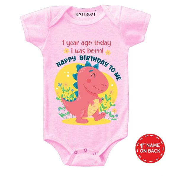 Born 1 year ago Baby Outfit