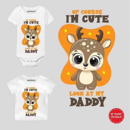 Cute Daddy Personalized wear