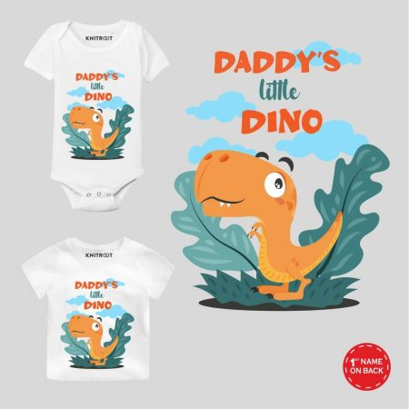 Daddy's Dino Baby Outfit