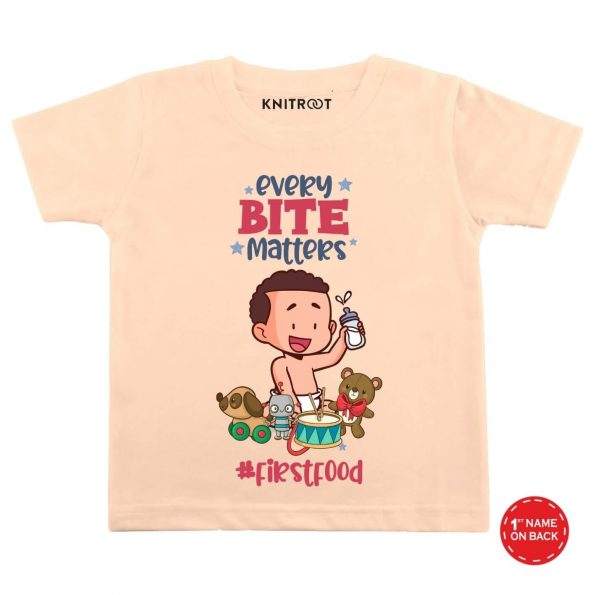 Every Bite Baby Outfit