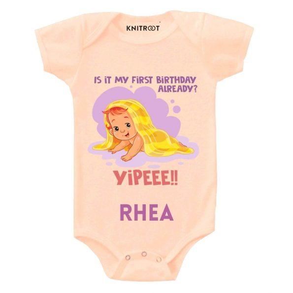 First Birthday Already outfit