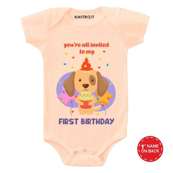 First Birthday Baby Clothes