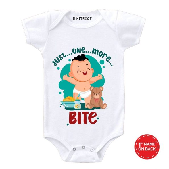 One more Bite Baby wear