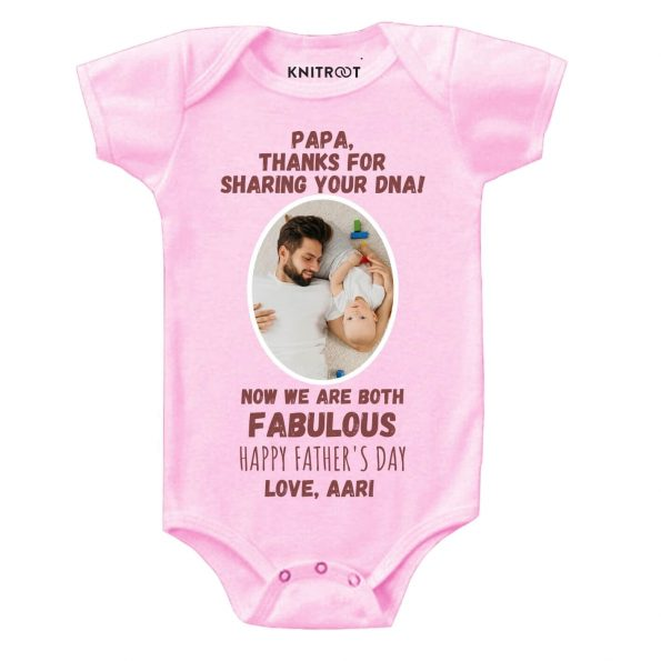 Papa thanks for DNA baby wear p r