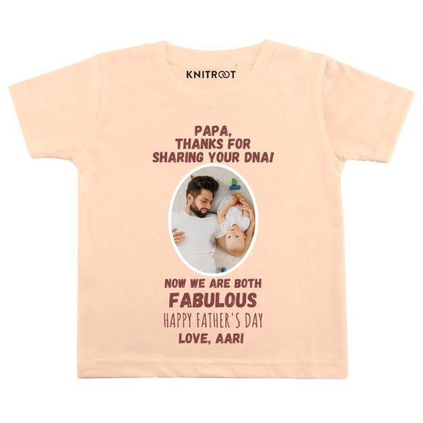 Papa thanks for DNA baby wear pe t