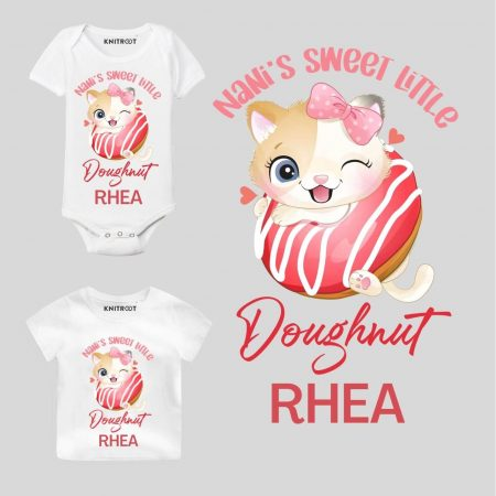 Sweet Doughnut baby outfit