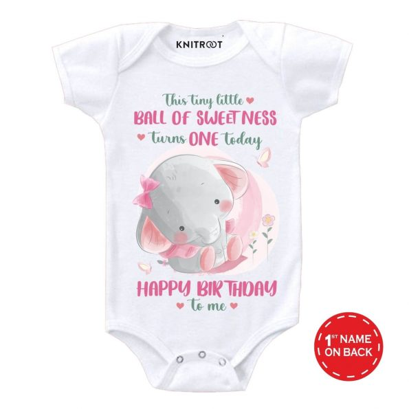 Tiny turns one Baby Outfit