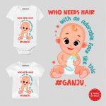 Who needs hair Baby Wear