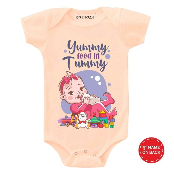Yummy Food Baby Outfit