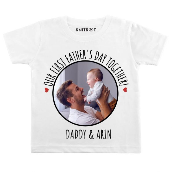 our first father day t