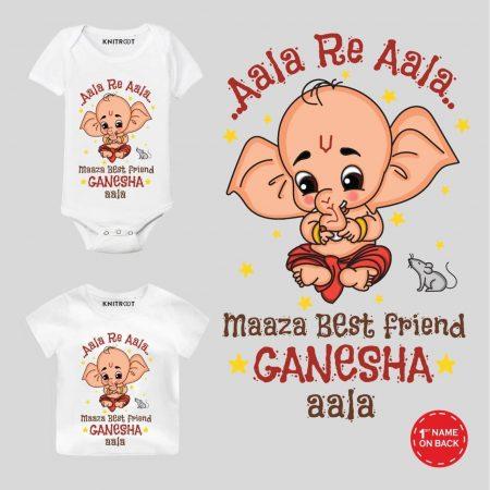 ganpati printed t shirt