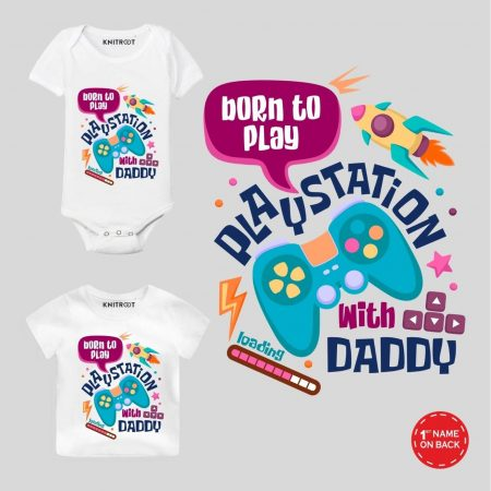 Born to Play Personalized Wear