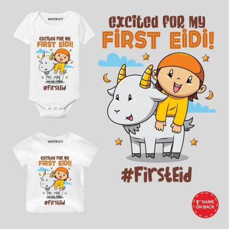 my first eid baby clothes