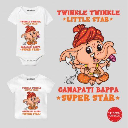 ganpati bappa t shirt