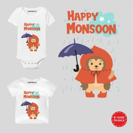 Happy Monsoon Baby Outfit