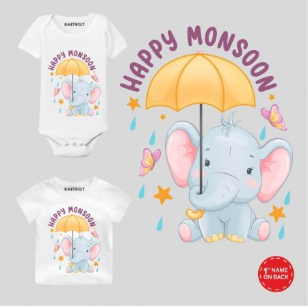Monsoon Elephant Design Outfit