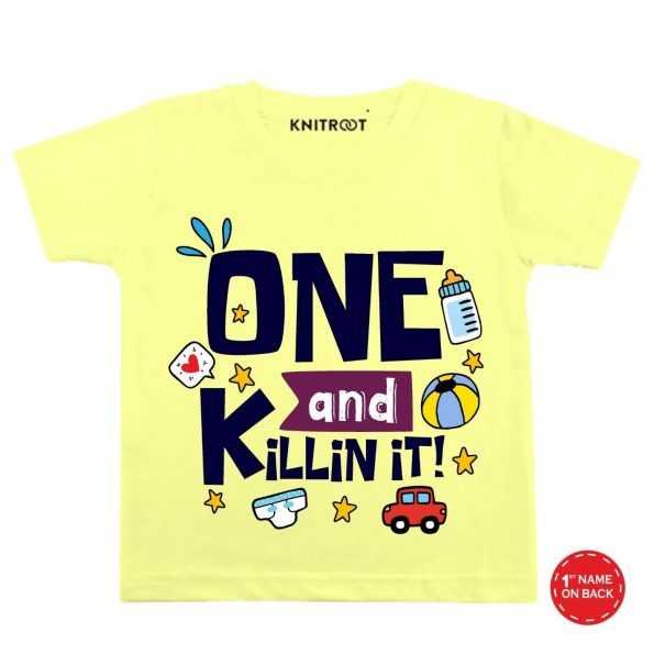 One and killing it y t