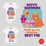 Best Pal Onesie & Tshirt