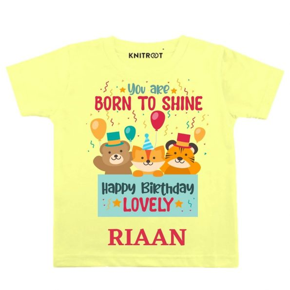 Born to shine Baby Outfit