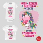 Hugs & Kisses Baby Outfit