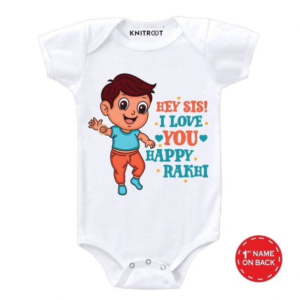 Sis I Love You Baby Clothes