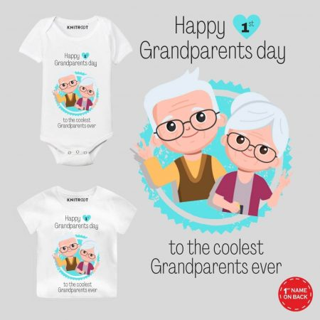 1st Grandparents Day Baby Wear