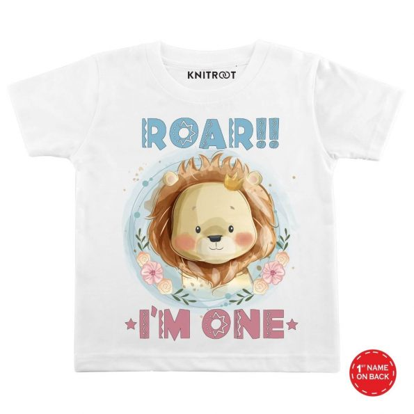 Roar I'm One Baby Outfit