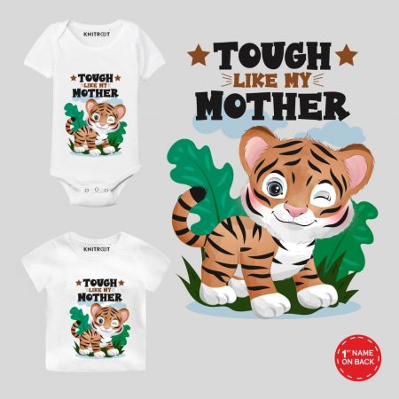 Tough Like Mother Baby wear