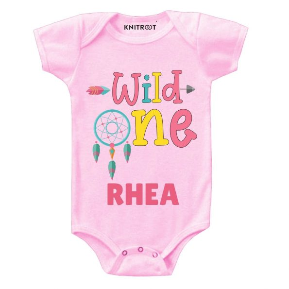 Wild One Baby Outfit pi r